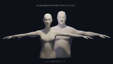 Sculpting Bases for Portraits