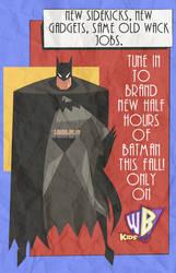 Kids' WB New Batman Adventures 1997 Promo (RARE)