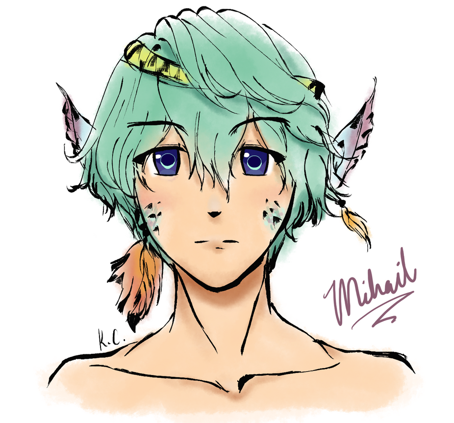 Original Character: Mihail by thirdboot033101