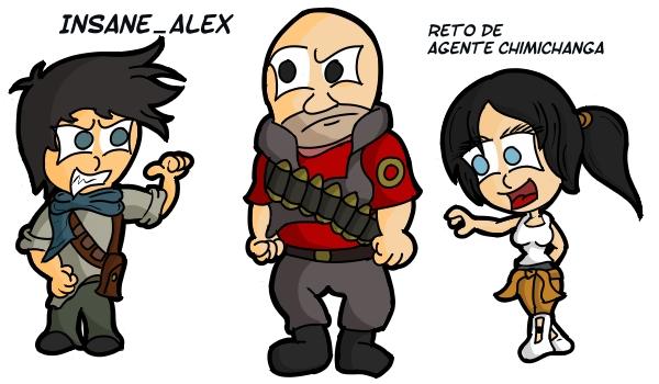 Personajes de Videojuegos by InsaneAlex11