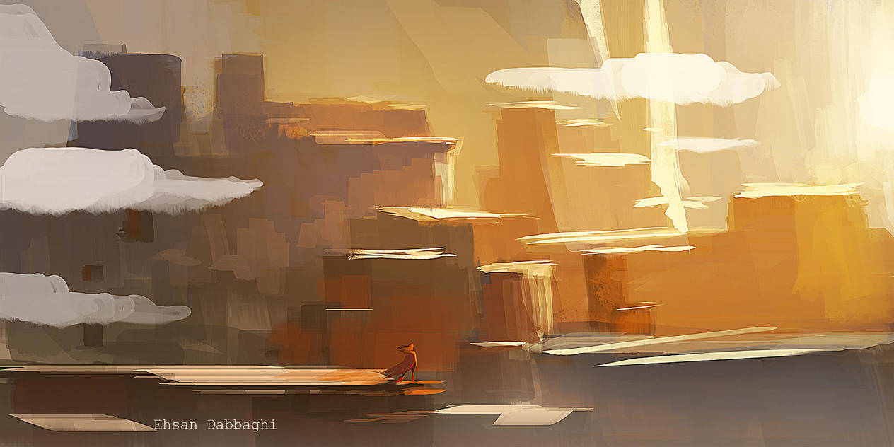 speed painting by Dabbaghi