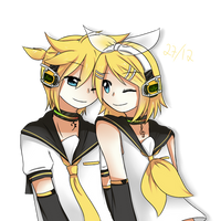 -Kagamine Birthday- by saphred33