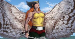 Hawkgirl by littleMURE