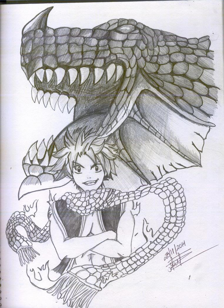 Natsu Dragneel - Fairy Tai by burbujaluxmagic