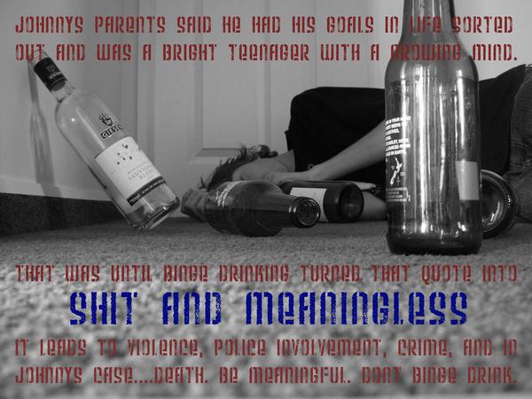 Against Teenage Binge Drinking by ~SquashedPotato on deviantART