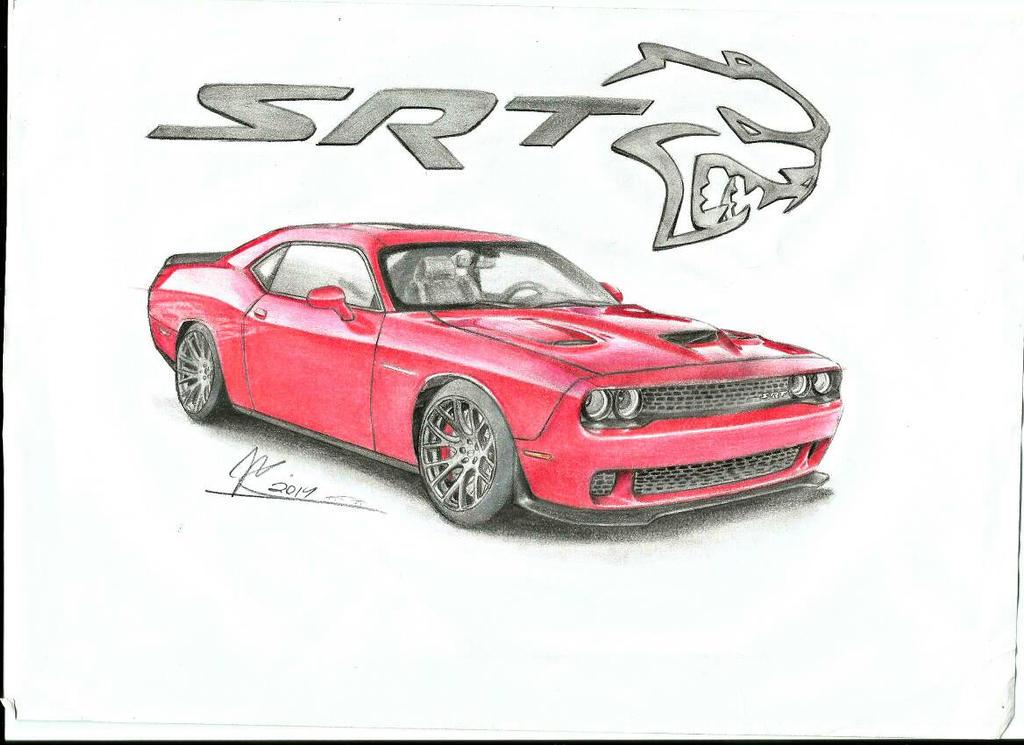 Dodge Challenger SRT Hellcat by jmdesign35 on DeviantArt