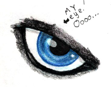Eyeball by bulletwolf