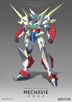 Grand Charion x Core Gundam II
