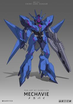 Enemy Core Gundam aka Alus Earthree Gundam