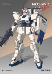 COMMISSION Gundam EZ-8
