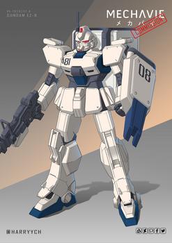 Commission - Gundam EZ-8