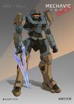 Commission - Spartan x Arbalest