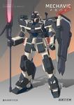 COMMISSION - Gundam EZ-8 Hoplite
