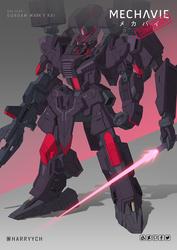 Commission - Gundam MK-V Kai