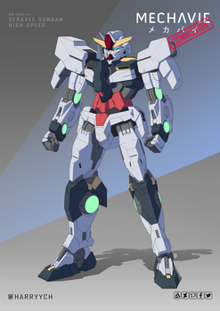 COMMISSION - Seravee Gundam High Speed