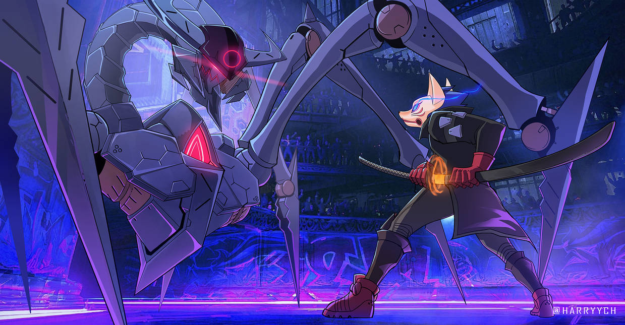 Kitsune vs Gyuki - DALDR Contest Entry