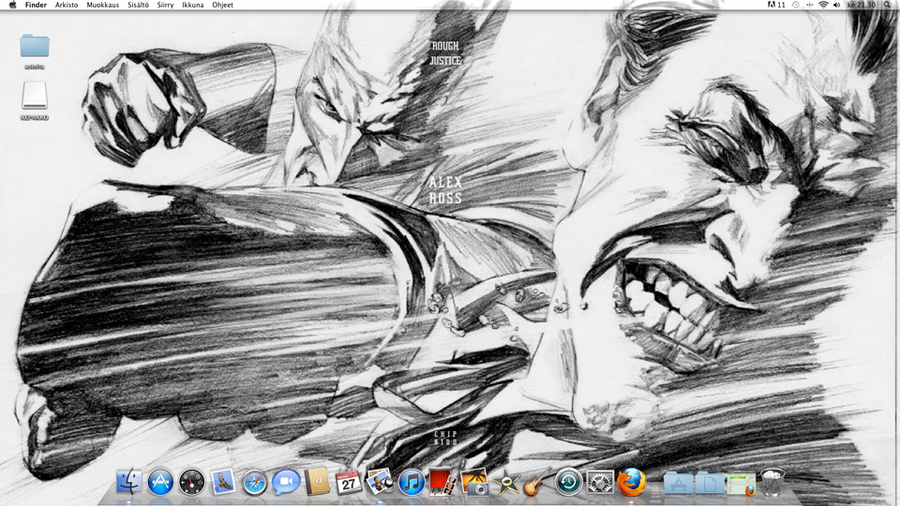 Alex Ross backround by Hoodd