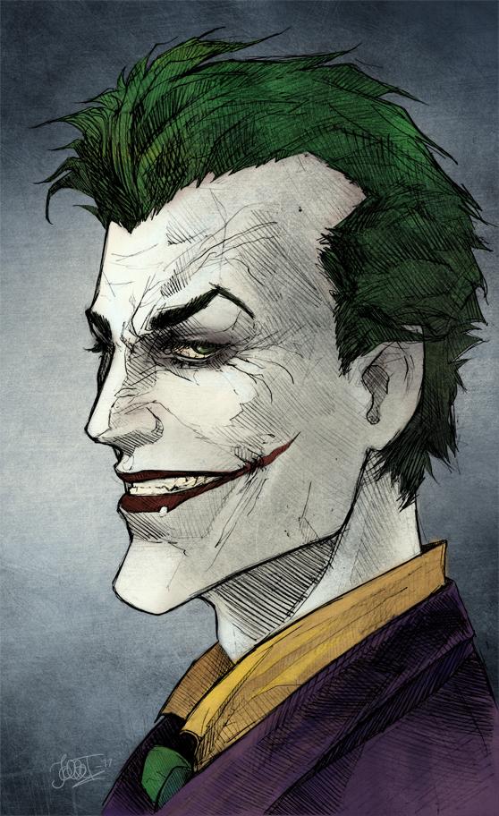 Arkham Joker by Hoodd