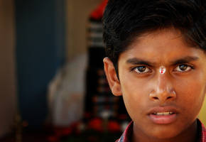 Eyes of India by Ikabe