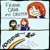 FRANK GRAB MY CROTCH