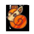 Vulpix Badge by yukio-nenjikuji