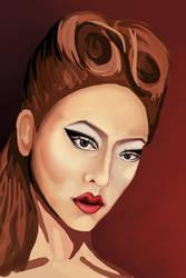 Violet Chachki by alice-ruby