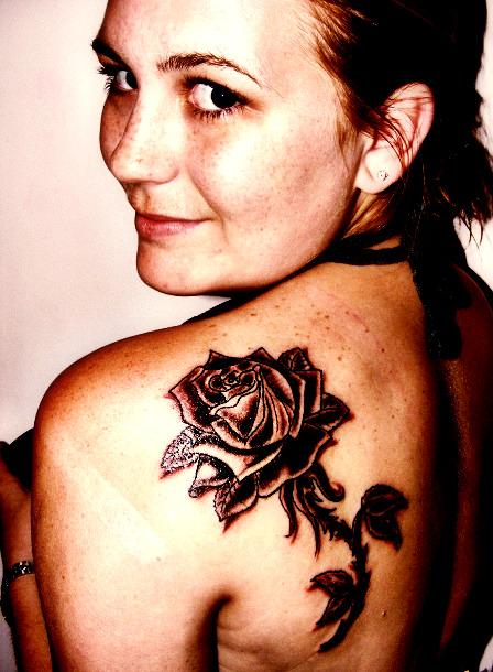 first tattoos. her first tattoo