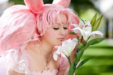 Flower Princess Chibiusa by Chibi-MeNanA