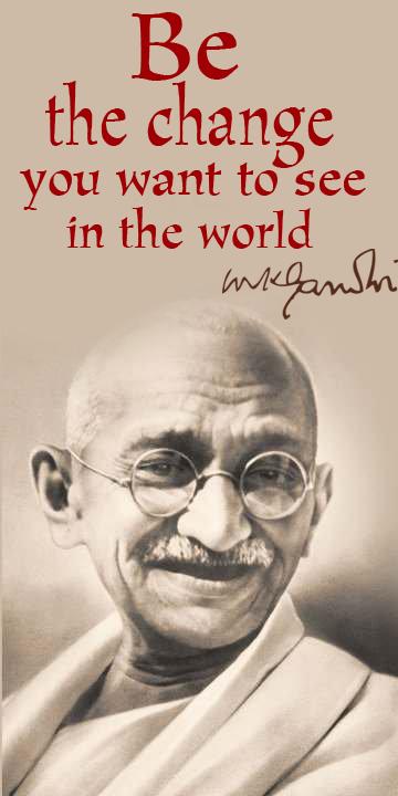 Gandhi .. by aegemy