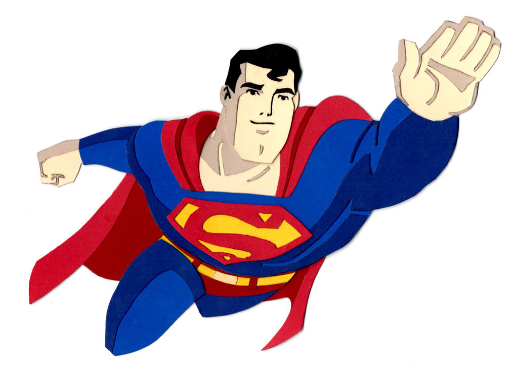 clipart superman flying - photo #37
