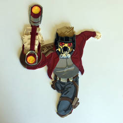 Star-Lord paper cutout