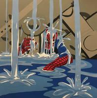 Papercraft: The Amazing Spider-man #33 recreation