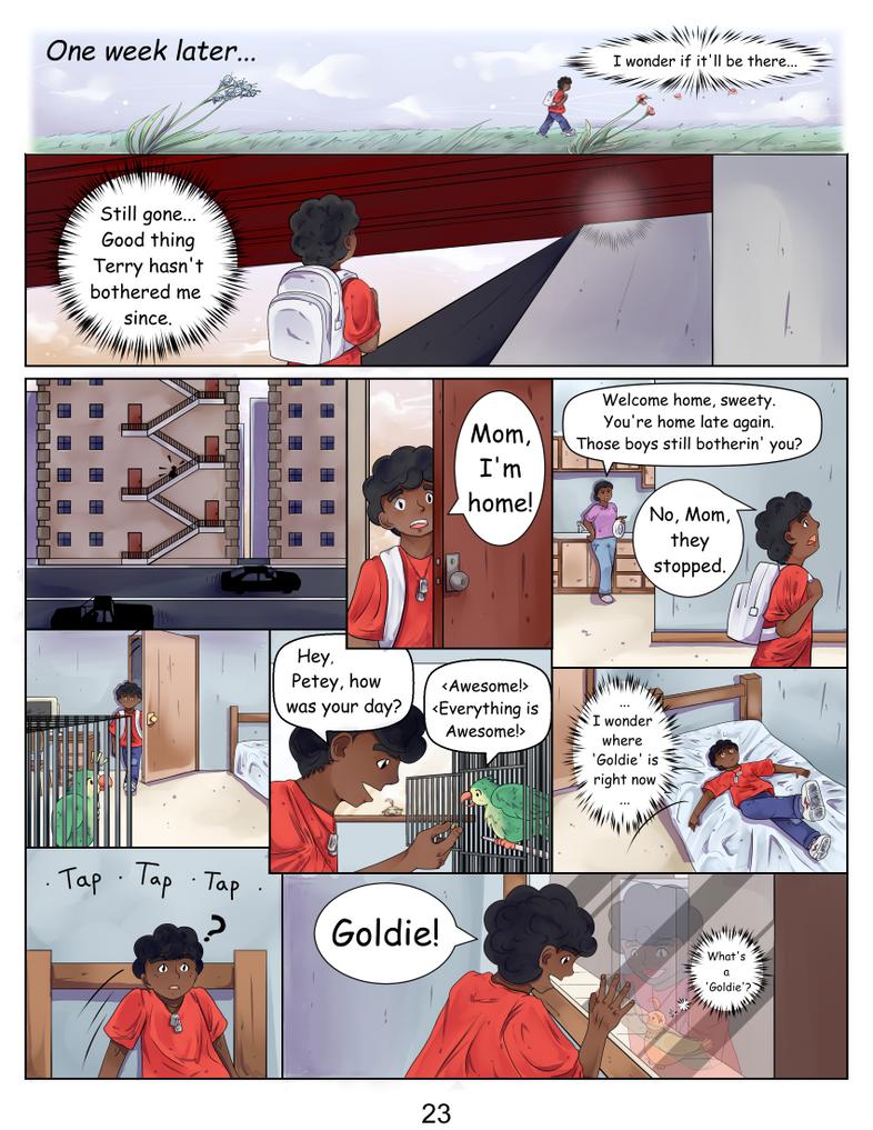 Golden Pigeon Part 1 page 23 by Lunar-Nebula-LLC