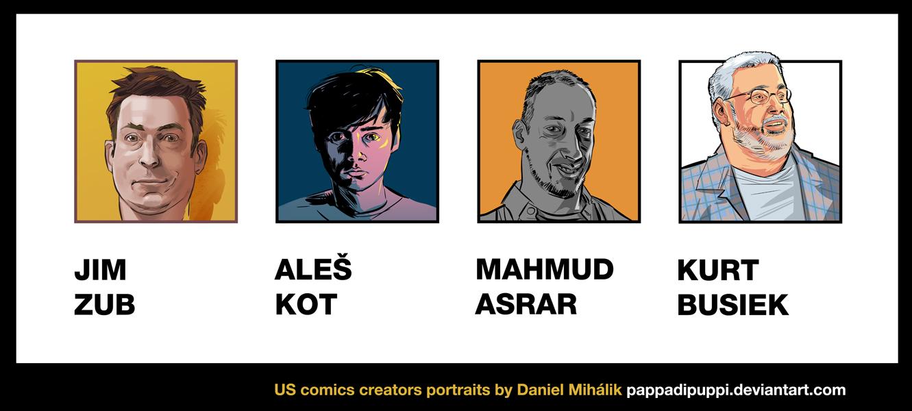 Portraits by pappaDiPuppi