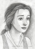 Real Belle Sketch by Vawie-Art