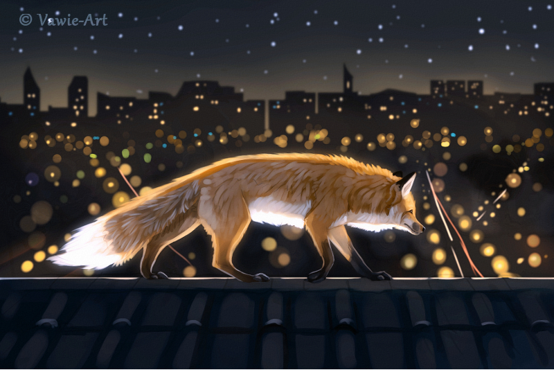 Urban Nights 2 by Vawie-Art