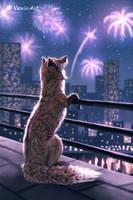 Urban Nights 5 by Vawie-Art