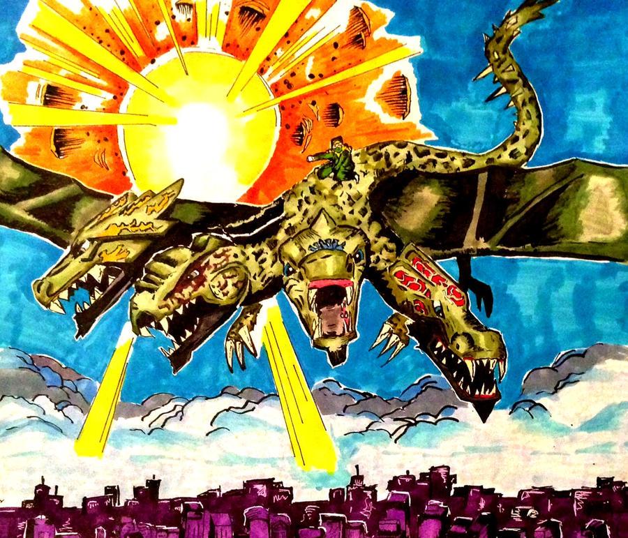 Ninjago Ultra Dragon by Dukester2000