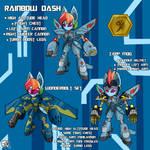 Medabot Rainbow Dash