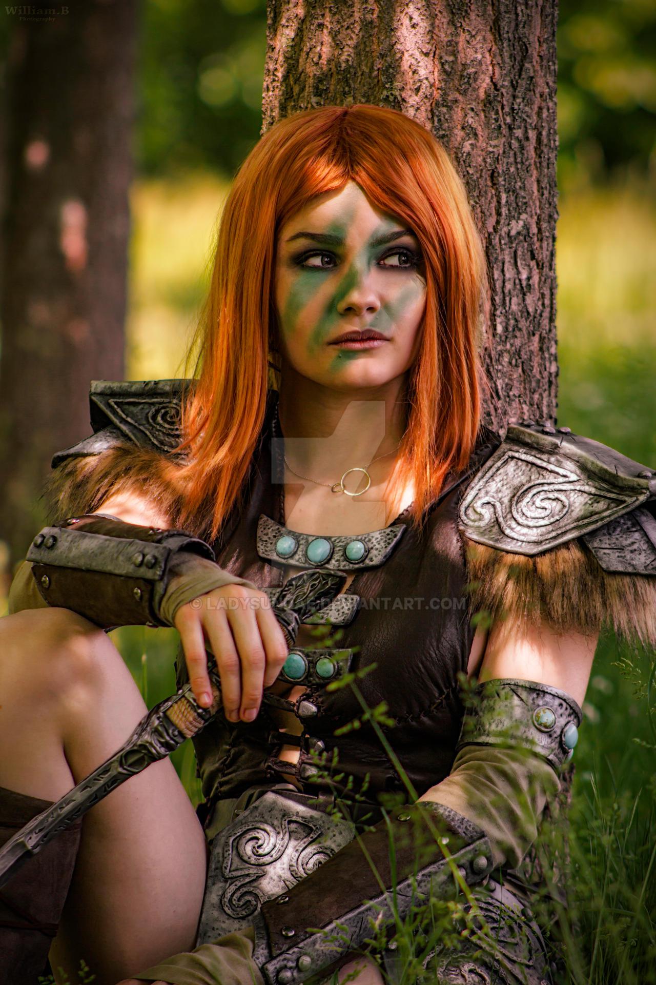 Aela the Huntress cosplay from Skyrim by LadySundae on ...