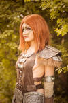 Aela the Huntress cosplay from Skyrim