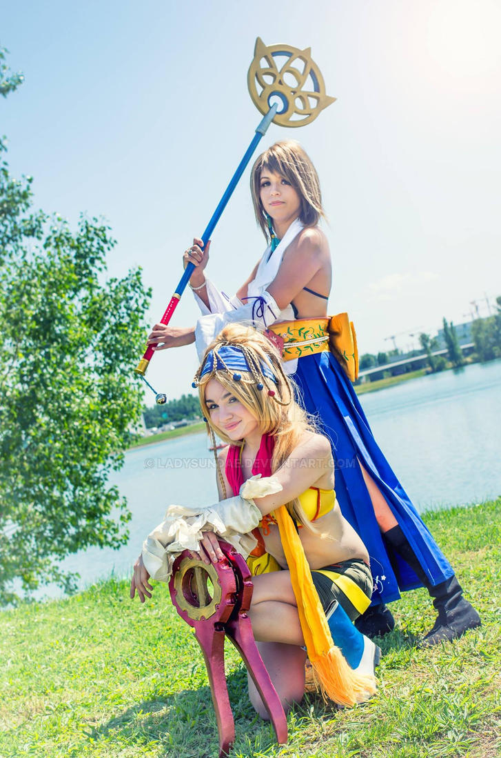 Rikku Thief and Yuna Summoner - Final Fantasy X-2 by LadySundae
