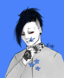 TG Week - Day 4 - Blue forget me not by fleur-de-lys59