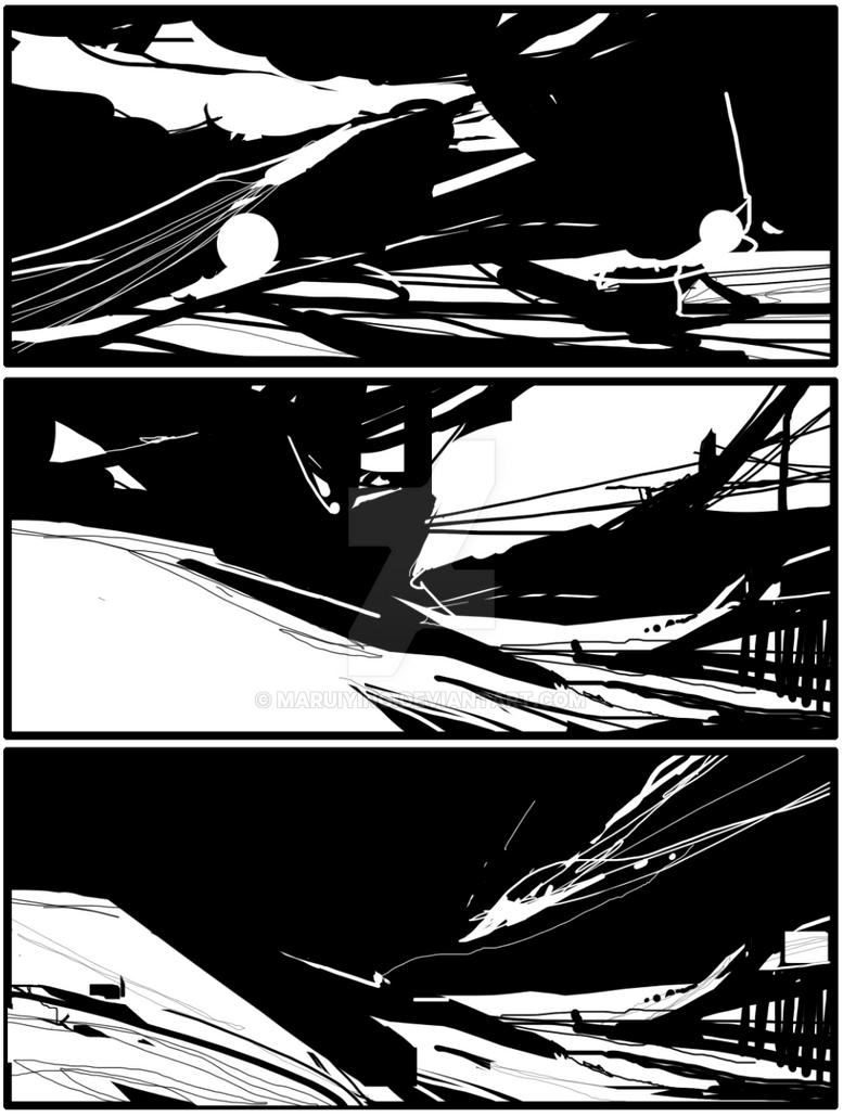 black-white practise by maruiying