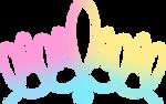 OH MY GIRL logo tricolour d