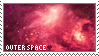 Outer Space Stamp by Brainmatters