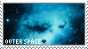 Outer Space Stamp 2 by Brainmatters