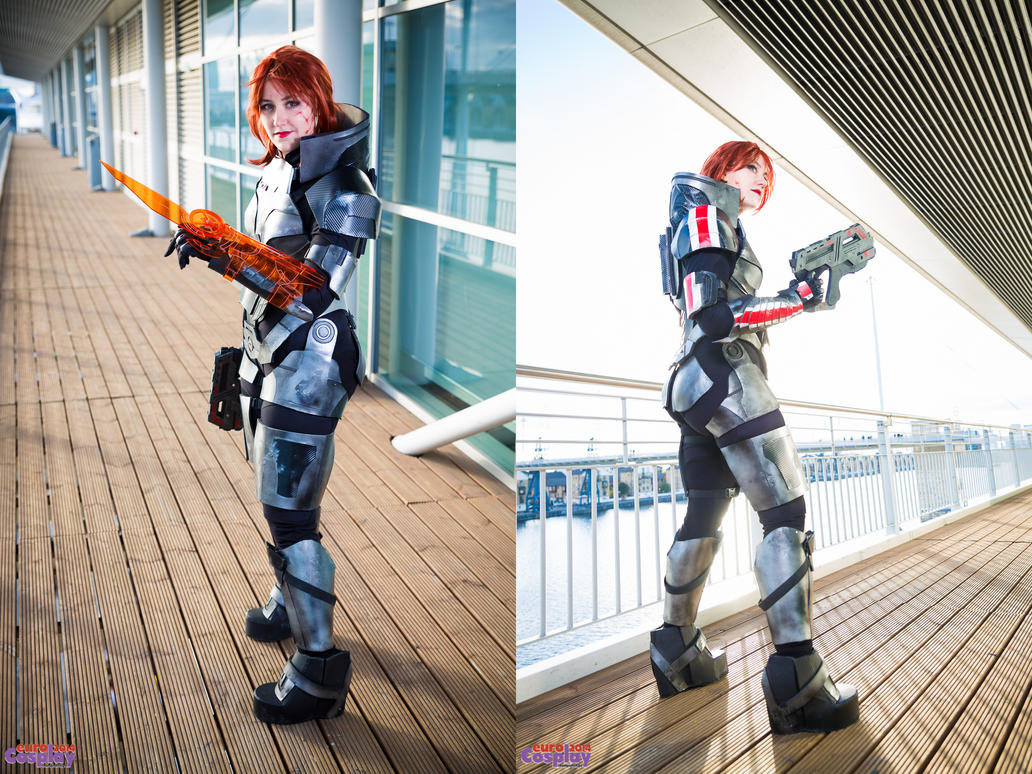 Commander Shepard - Ready for Battle by xPandorae