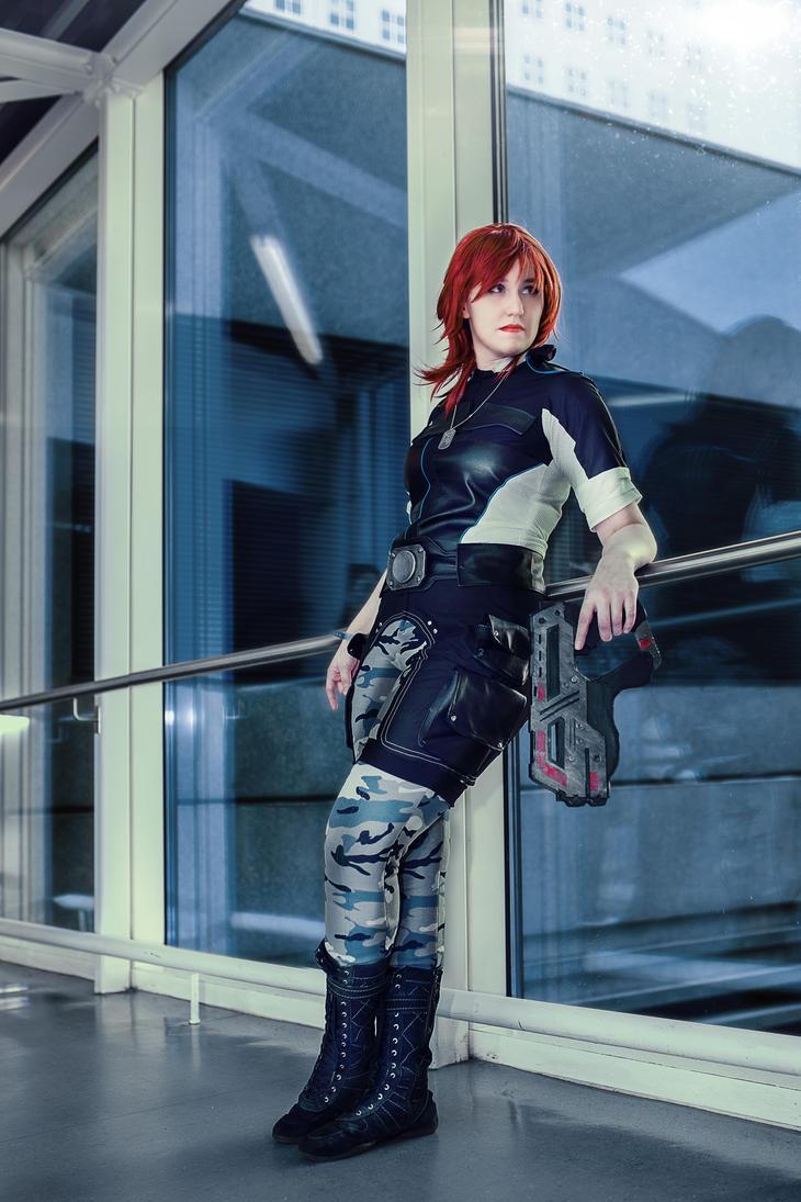 Mass Effect - Waiting by xPandorae