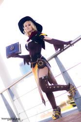 Witch Mercy - Overwatch by xPandorae